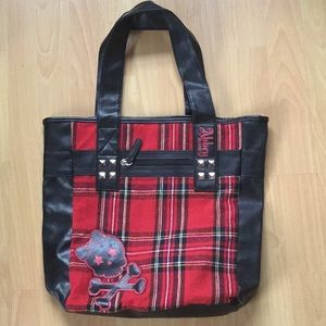 Abbey Dawn Skull Tote Purse